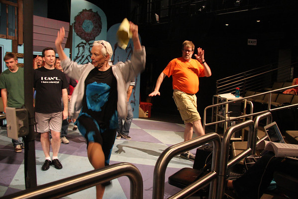 How to Succeed June Rehearsals 2012