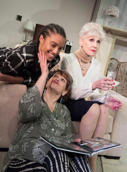 '3 Women' Play performed at the Trafalgar Studios, London, UK