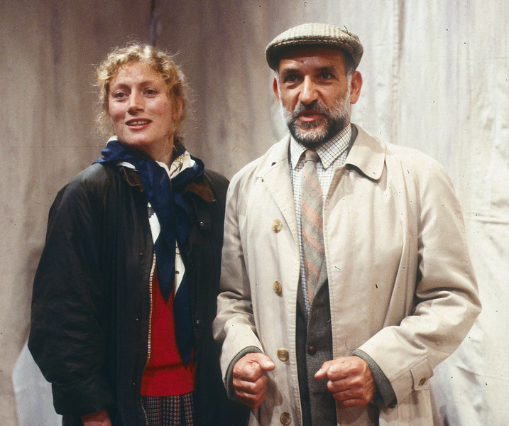 'A Betrayal' Play performed at the Man in the Moon Theatre, London, UK 1986 ©Alastair Muir A Betrayal