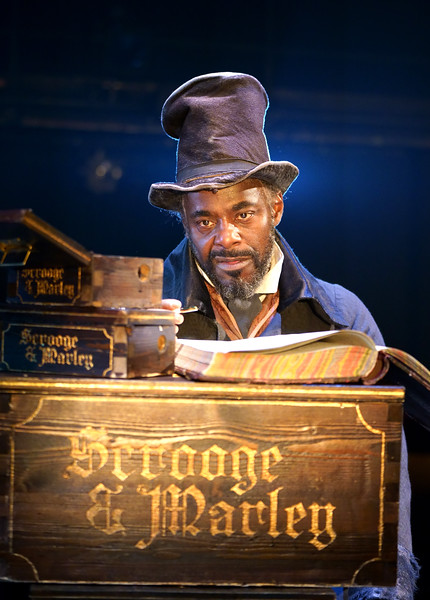 'A Christmas Carol' Paly performed at the Old Vic Theatre, London, UK