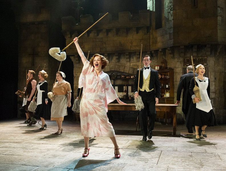 'A Damsel in Distress' Musical performed at the Festival Theatre, Chichester, UK
