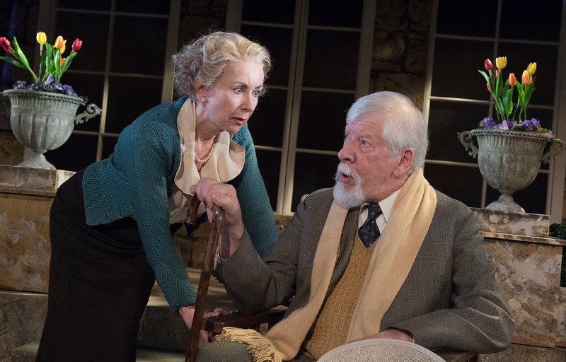 'A Day By The Sea' Play performed at the Southwark Playhouse, London,UK