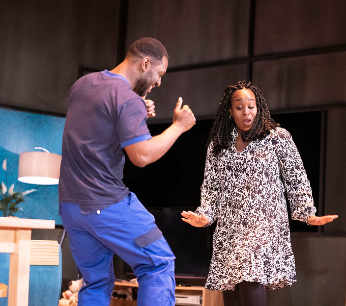 'A Kind of People' Play performed at the Royal Court Theatre, London, UK