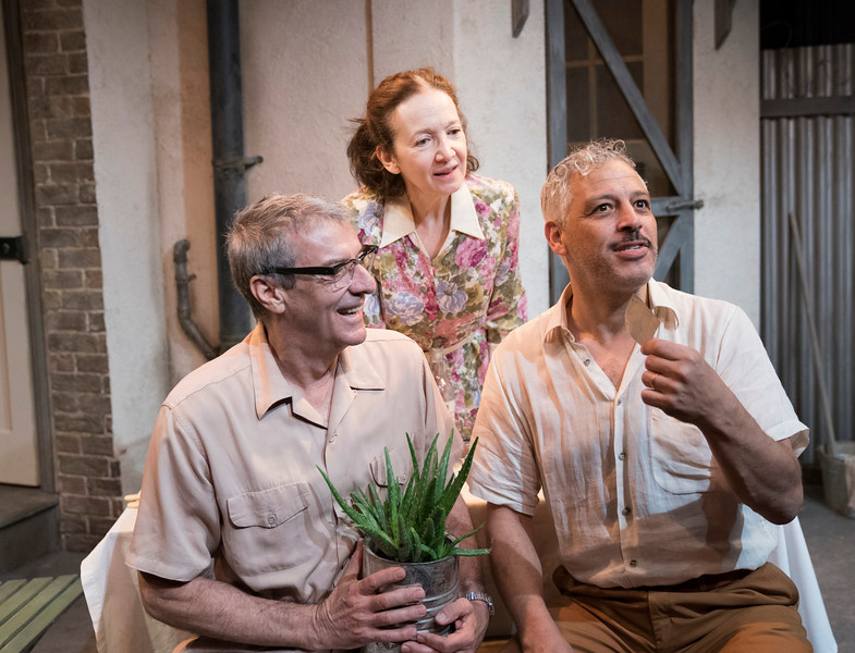 'A Lesson from Aloes' Play by Athol Fugard performed at the Finborough Theatre, London, UK