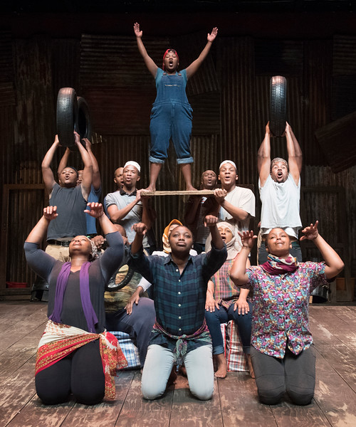 'Man of Good Hope' Play performed at the Young Vic Theatre, London, UK