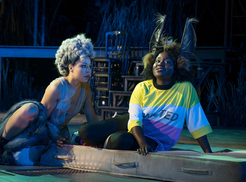 'A Midsummer Night's Dream' Play performed at the Open Air Theatre, Regent's Park, London, UK