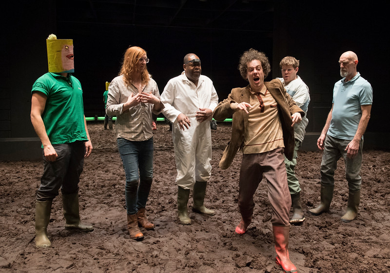 'A Midsummer Night's Dream' performed at the Young Vic Theatre, London, UK