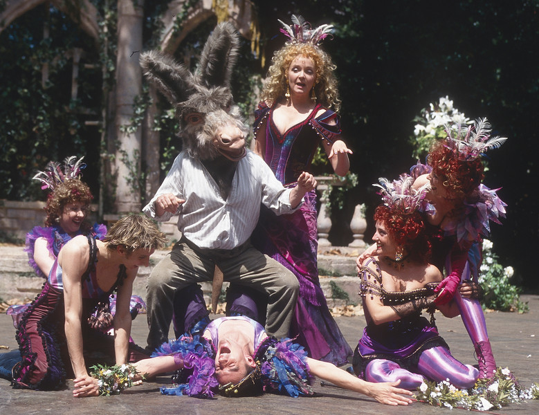 'A Midsummer Night's Dream' Play performed at the Open Air Theatre, Regent's Park, London, UK 1997©Alastair Muir A Midsummer Night's Dream 2