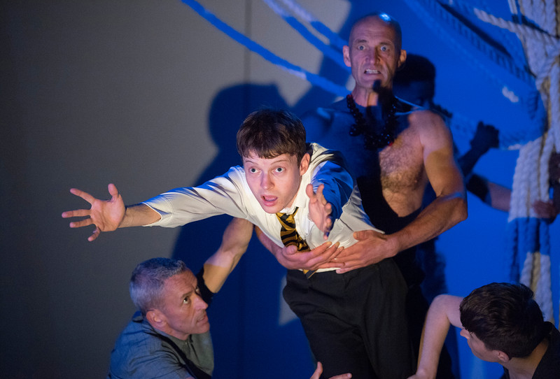 'A Monster Calls' Play by Patrick Ness performed at the Old Vic Theatre, London, UK