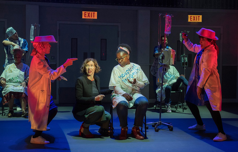 'A Pacifist's Guide to the War on Cancer' Play by Brony Kimmings and Brian Lobel performed in the Dorfman Theatre, Royal National Theatre, London, UK