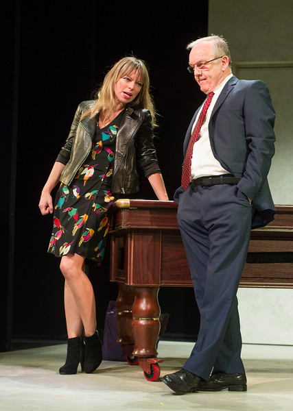 'A View From Islington North' Plays by Mark Ravenhill, Alistair Beaton, David Hare and Stella Feehily performed at the Arts Theatre, London, UK