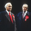'The Absence of War' Play performed in the Olivier Theatre, National Theatre, London, UK 1993