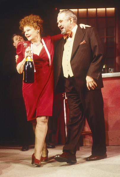 'Absolute Hell' Play performed in the Lyttelton Theatre, National Theatre, London, UK 1995
