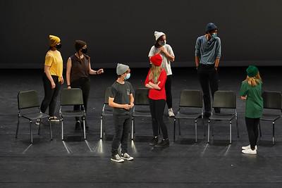 Advanced Theatre showcase WFHS // March 2021 // photo by Devon Adams