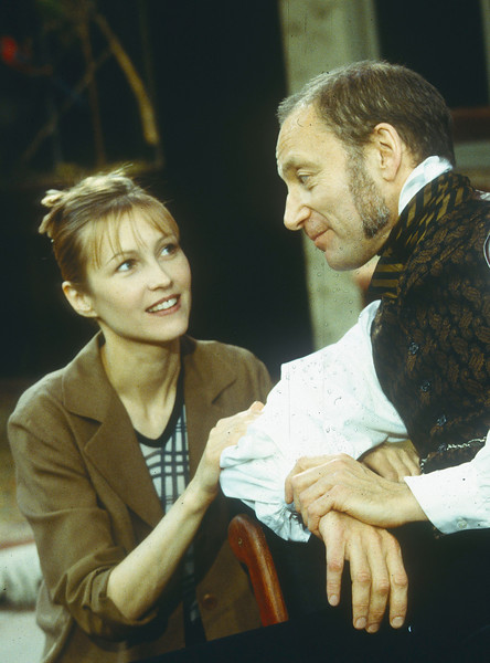 'After Darwin' Play performed at Hampstead Theatre, London, UK 1998