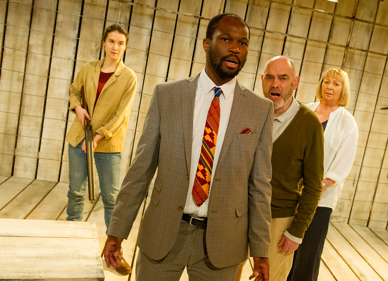'After Independence' Play by May Sumbwanyambe performed at the Arcola Theatre, London, UK