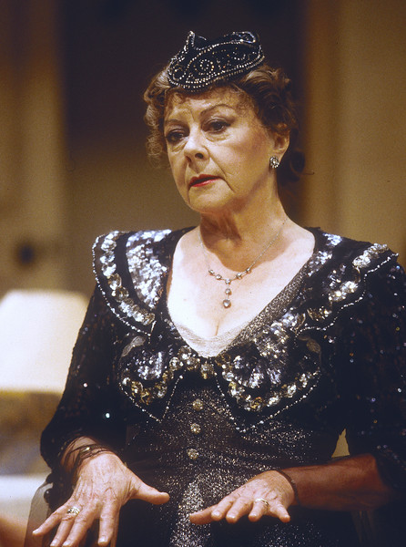'After October' Play performed at the Minerva Theatre, Chichester, East Sussex, UK 1997