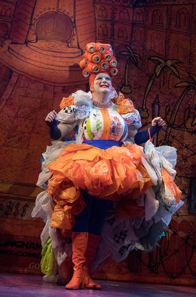 Aladdin Pantomime performed at the Lyric Theatre, Hammersmith, LOndon, UK
