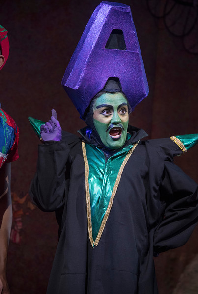 Aladdin Pantomime performed at the Lyric Theatre, Hammersmith, LOndon, UK