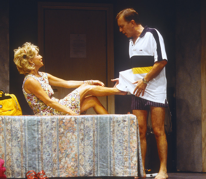 'Alarms and Excursions' Play performed at the Gielgud Theatre, London, UK 1998