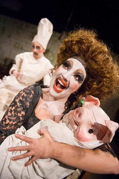 'Alice's Adventures Underground' Play performed in The Vaults, London, UK