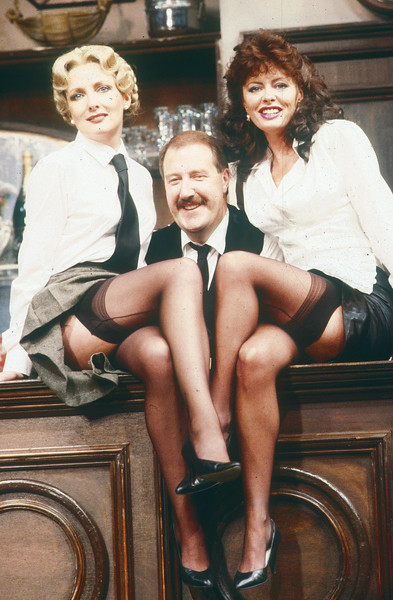 'Allo Allo' Play performed at the Prince of Wales Theatre, London, UK 1986