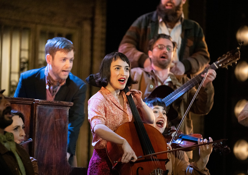Amelie The Musical. Play performed at the Critereon Theatre, London, UK