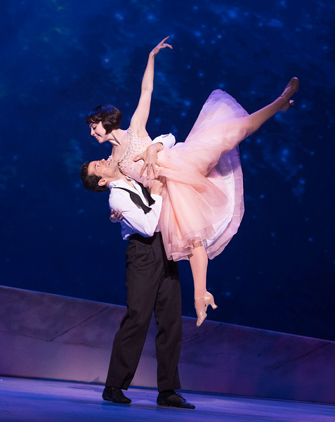 'An American in Paris' Musical performed at the Dominion Theatre, London, UK