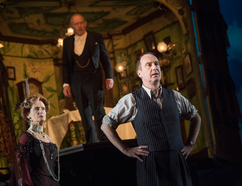 'An Inspector Calls' Paly performed at The Playhouse Theatre, London, UK