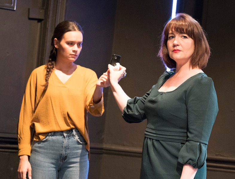 'Anahera' Play performed at the Finborough Theatre, London, UK