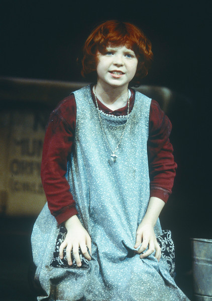 'Annie' Musical performed at the Victoria Palace Theatre, London, UK 1998