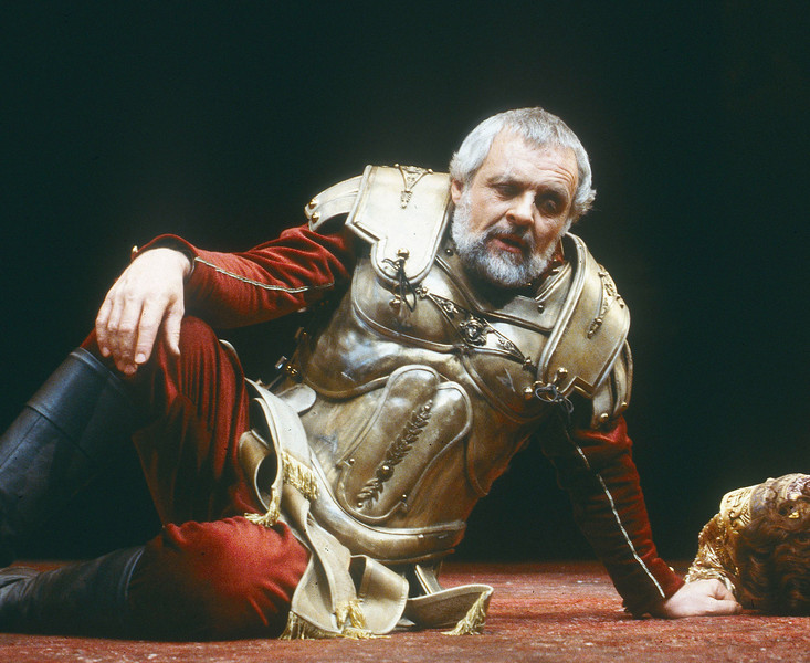 'Anthony and Cleopatra' Play performed in the Olivier Theatre, National Theatre, London, UK 1987