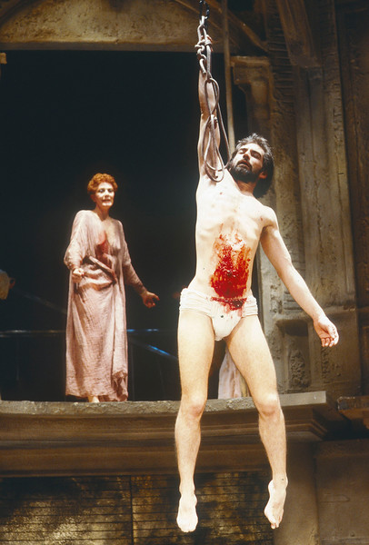 'Anthony and Cleopatre' Play performed at the Theatre Royal, Haymarket, London, UK 1986