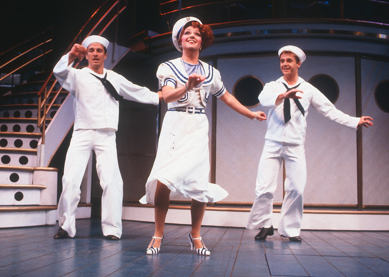 'Anything Goes' Musical performed at the Prince Edward Theatre, London, UK 1989