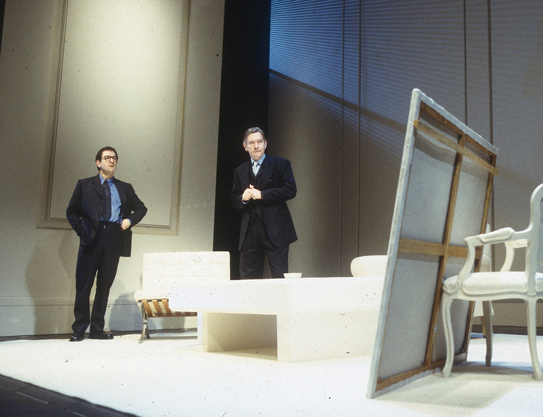 'Art' Play performed at Wyndham's Theatre, London, UK 1996