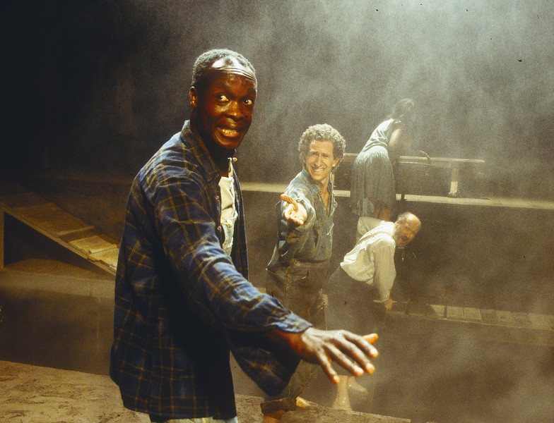 'As I Lay Dying' Play performed at the Young Vic Theatre, London, UK 1998