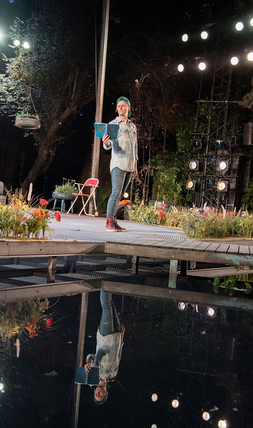 'As You Like It' Play performed at the Open Air Theatre, Regent's Park, London, UK