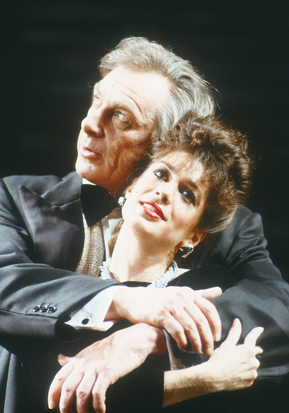 'Aspects of Love' Musical performed at the Prince of Wales Theatre, London, UK 1988
