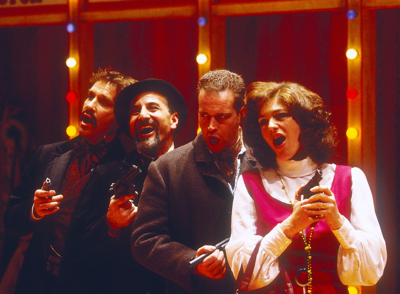 'Assasins' Play performed at the Donmar Theatre, London, UK 1993