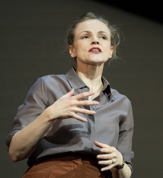 'Avalanche: A Love Story' Play by Julia Leigh performed at the Barbican Theatre, London, UK