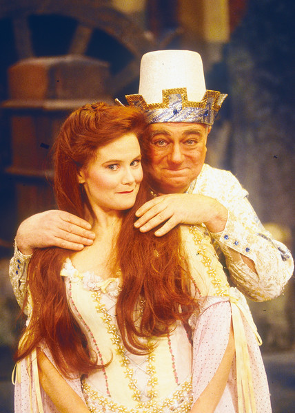 'Babes in the Woods' Pantomime performed at Sadler's Wells Theatre, London, UK 1995