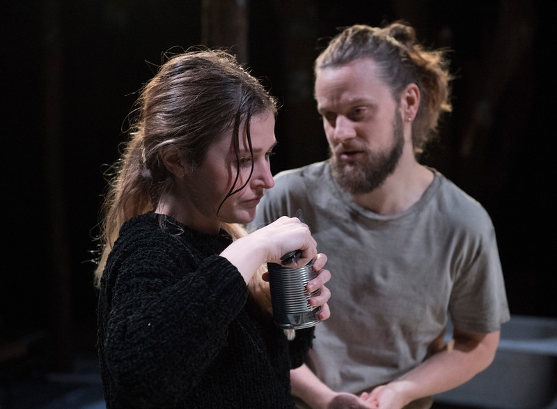'Bad Road' Play by Natal'ya Vorozhbit performed at the Royal Court Theatre Upstairs, London,UK