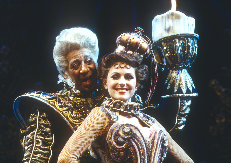 'Beauty and the Beast' Musical performed in the Dominion Theatre, London, UK 1997
