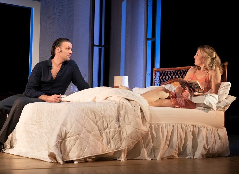 'Betrayal' Play by Harold Pinter performed at he Theatre Royal,  Bath, UK