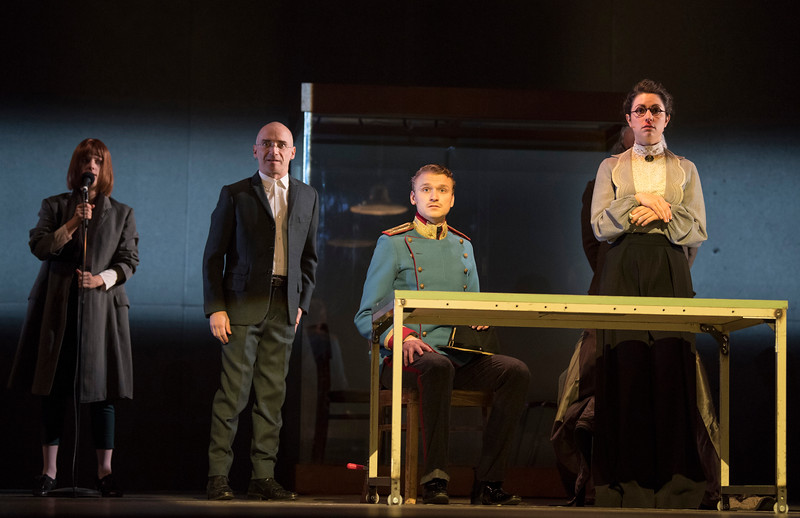 'Beware of Pity' Play performed by Complicite and Schaubuhne Berlin. Directed by Simon McBurney. Performed at the Barbican Theatre, London, UK