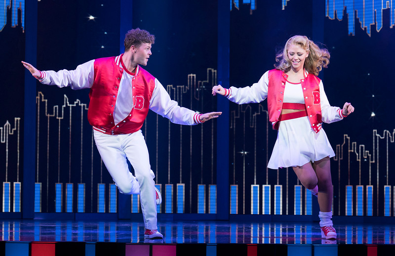 'Big the Musical' Musical performed at the Dominion Theatre, London, UK