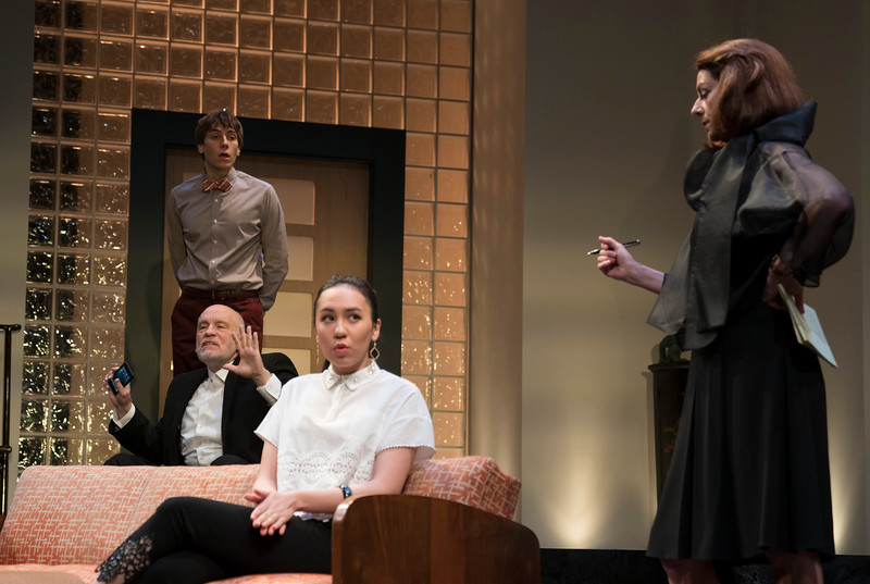 'Bitter Wheat' Play written and directed by David Mamet, performed at the Garrick Theatre, London, UK