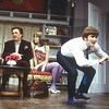 'Black Comedy' Play performed at the Comedy Theatre, London, UK 1998