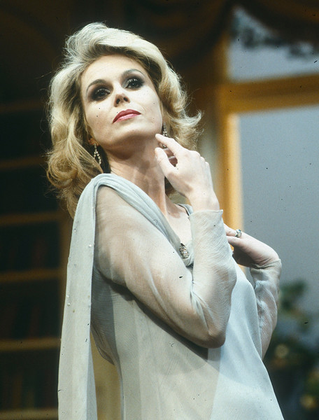 'Blithe Spirit' Play performed at the Vaudeville Theatre, London, UK 1986