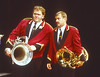 'Brassed Off' Play performed in the Olivier Theatre, National Theatre, London, UK 1998